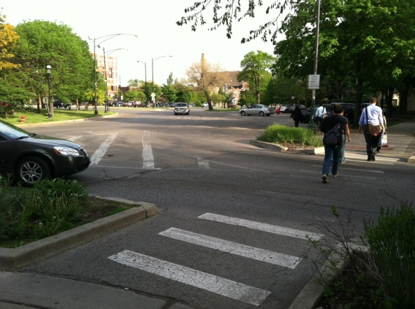 Wrightwood Crosswalk- Logan Circle